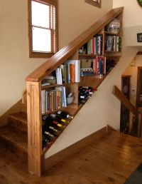 Under stairs bookshelf | For the Home | Pinterest ...
