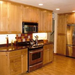 Kitchen Cabinets Light Wood Open Sink Stainless Steel Appliances Google