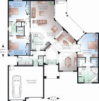 2388 sq ft - Main Floor Plan 23-2224 - interesting floor ...