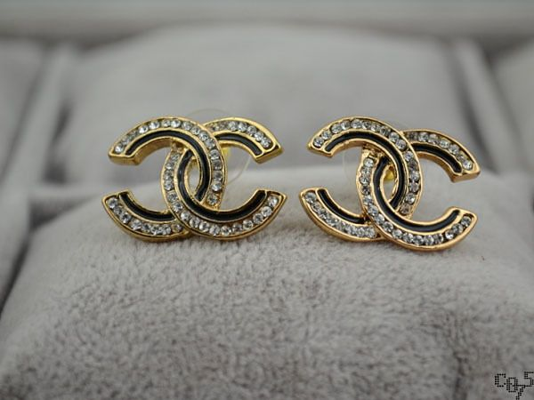 Chanel Inspired Earrings