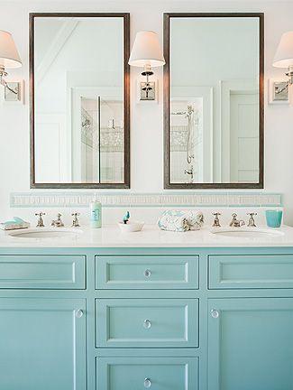 To da loos A dozen fun Blue bathroom vanities  Robins