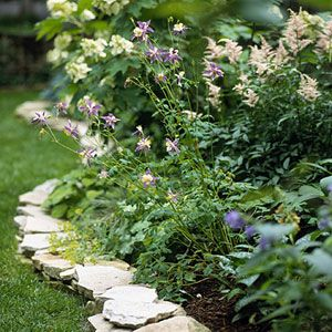 Garden And Landscaping Edging Ideas Gardens Flats And Stone Edging