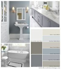Bathroom Color Schemes on Pinterest