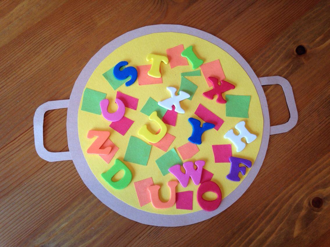 Alphabet Soup Craft