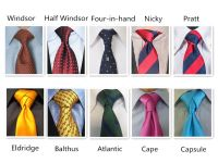 Types Of Tie Knots And How To Tie Them | www.pixshark.com ...