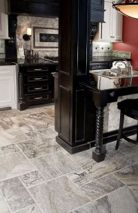 Silver Travertine Floor | Home Ideas | Pinterest ...