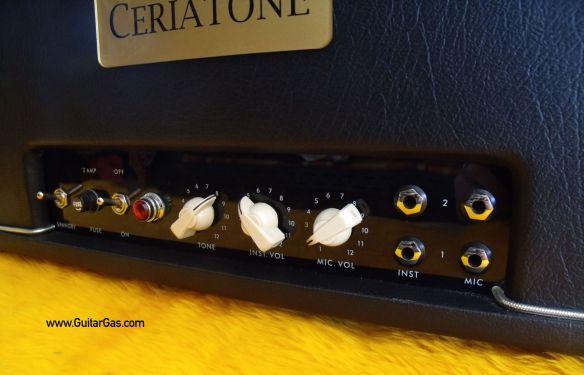 Ceriatone 5E3 Tweed Deluxe Control Panel