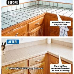 Refinishing Kitchen Countertops Professional Oven Are Your Tile Dated And Worn Grout Hard To