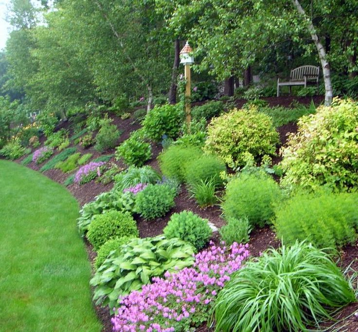 Landscape Steep Backyard Hill Pictures Landscaping Ideas