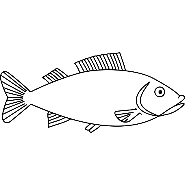 Fish template to embroider http://pixabay.com/static