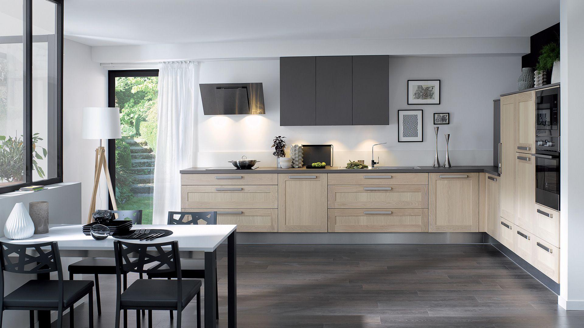 cuisine equipee wooden style authentique bois pour les inconditionnels du bois disponible