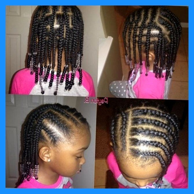 Braid Styles For Little Girls On Pinterest Cornrows Braid Little