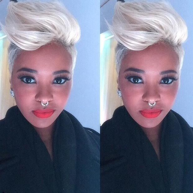 50 Short Hairstyles For Black Women Infos Pompadour And