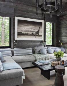 Interior designer anne hepfer   modern rustic summer lake house in muskoka also the shore sits feet below glass getaway zoe pinterest rh za
