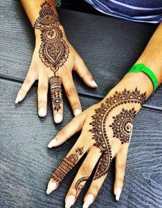 Easy Mehndi Designs For Hands For Girls Valoblogi Com