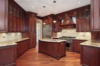mahogany kitchen cabinets | Kitchen cabinet pictures ...