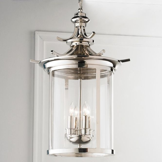Polished Nickel Paa Lantern With Its Finish And Shape A Of