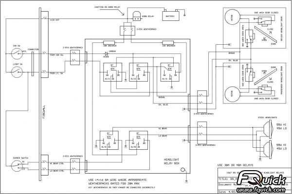 67 Gto Am Radio Speaker Wiring Schematic 1966 GTO Wiring