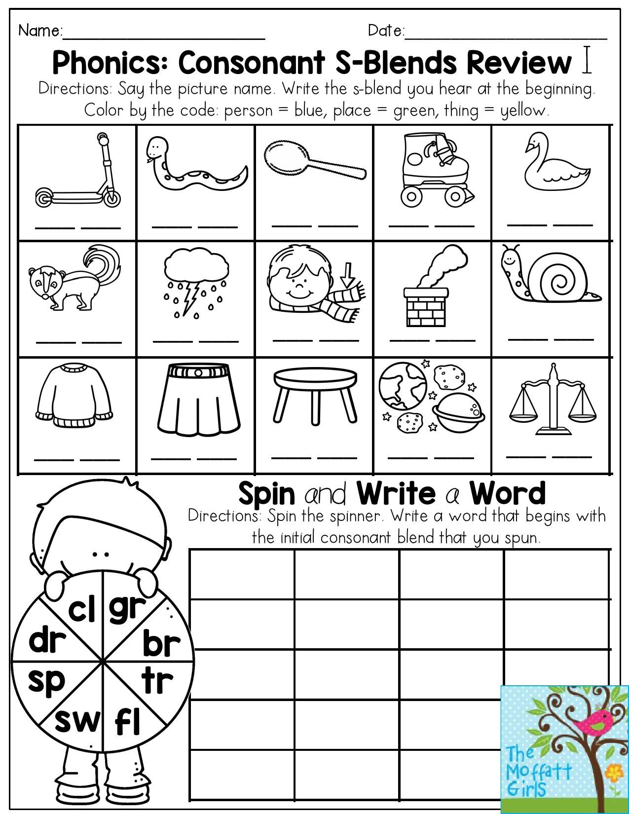 Worksheet R Blend Worksheets Grass Fedjp Worksheet Study