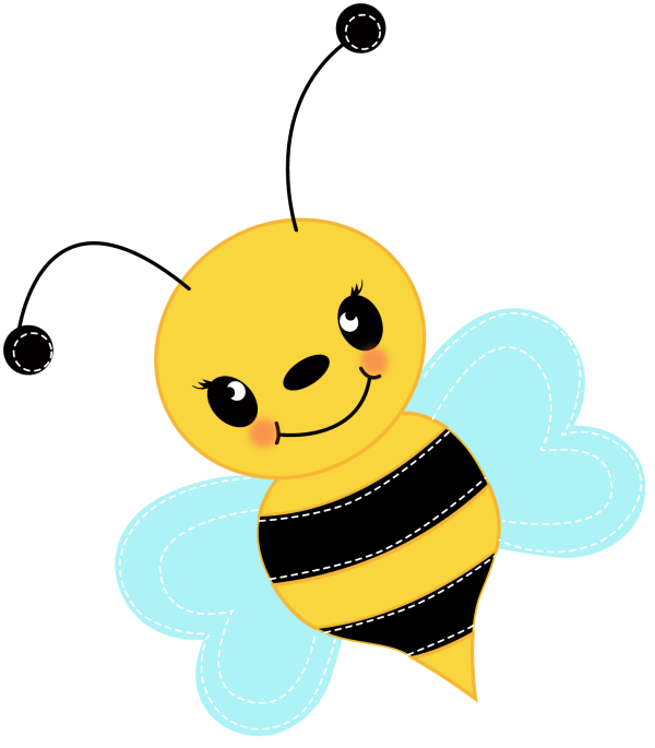 Free Cute Bee Clip Art