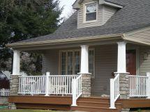Craftsman Home Style Cape Cod Porch