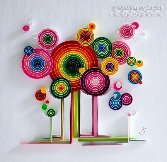 Quilling art Quilling wall art Quilling art Paper quilling