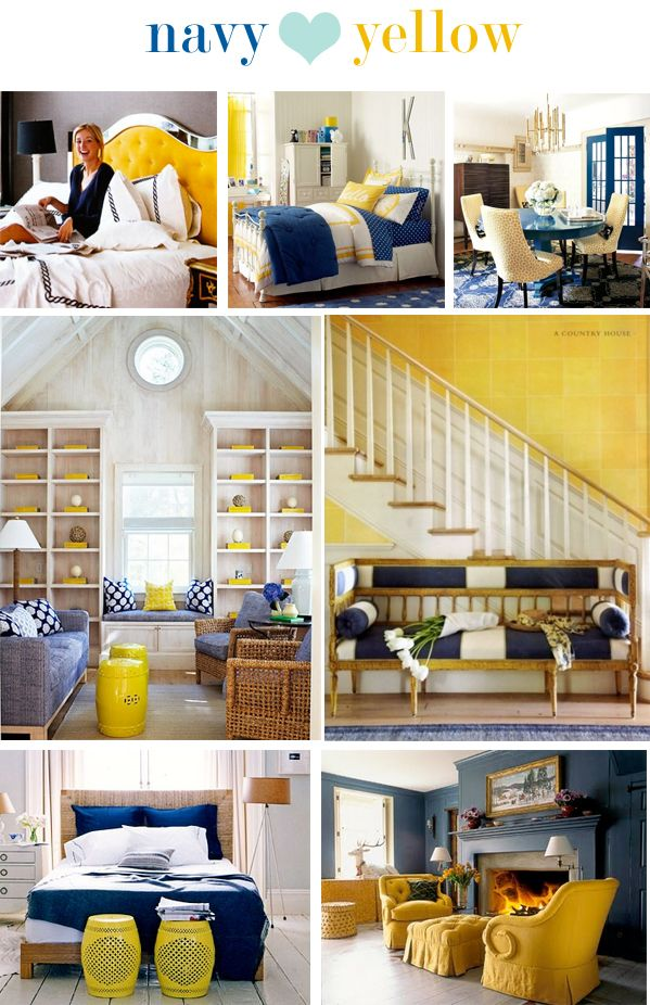 Navy  am loving the color schemes here also best interior colour trends images on pinterest rh