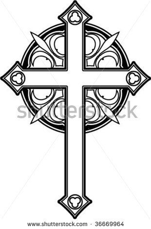 Cross Ornate Stock Photos, Cross Ornate Stock Photography