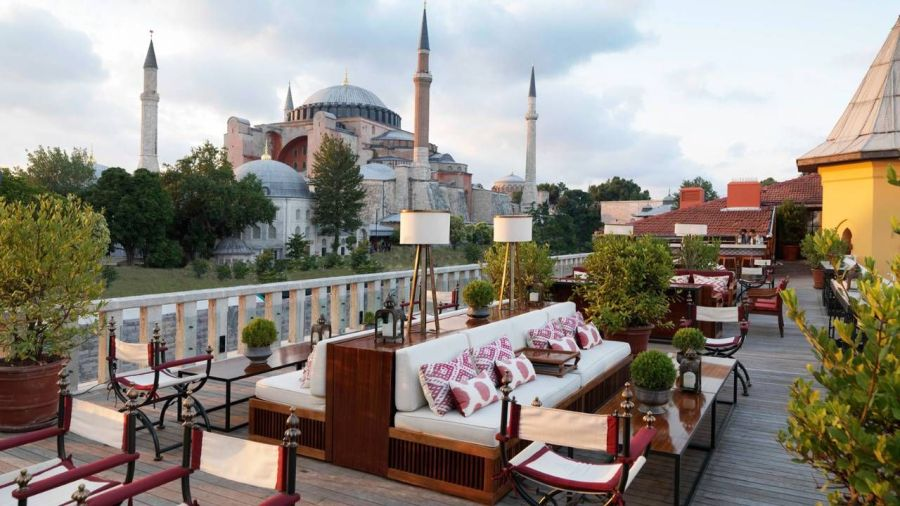 4.- El Four Seasons de Estambul en Sultanahmet, Estambul, Turquía