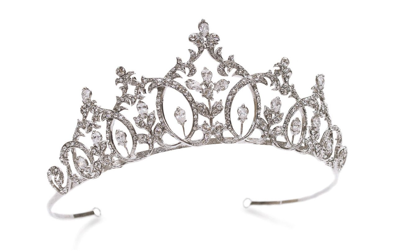 Imperial Beauty Tiara By Ivory Amp Co