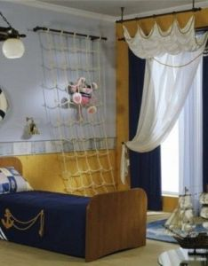 Pirate bedrooms themed furniture nautical theme decorating ideas bedroom decor peter pan jake and the never land pirates also inspiring of  marine boy   room design kidsomania rh pinterest