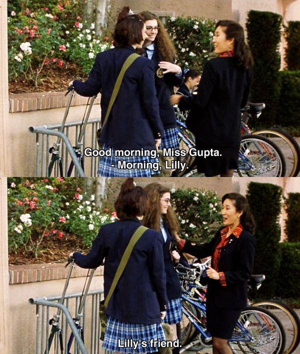 Princess Diaries 2001 - Quotes Chick Flicks Romcoms 2000 2005