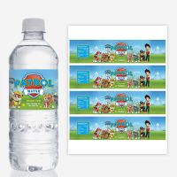 PAW PATROL Water Bottle Labels, Printable, Birthday Party ...