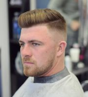 mens hairstyles comb over fade