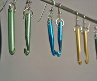 Crochet Hook Earrings - Etsy 4U // hf   Beading ...