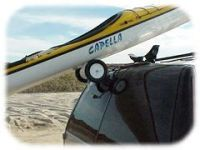 RollerLoader kayak roof rack rollers for loading kayaks ...