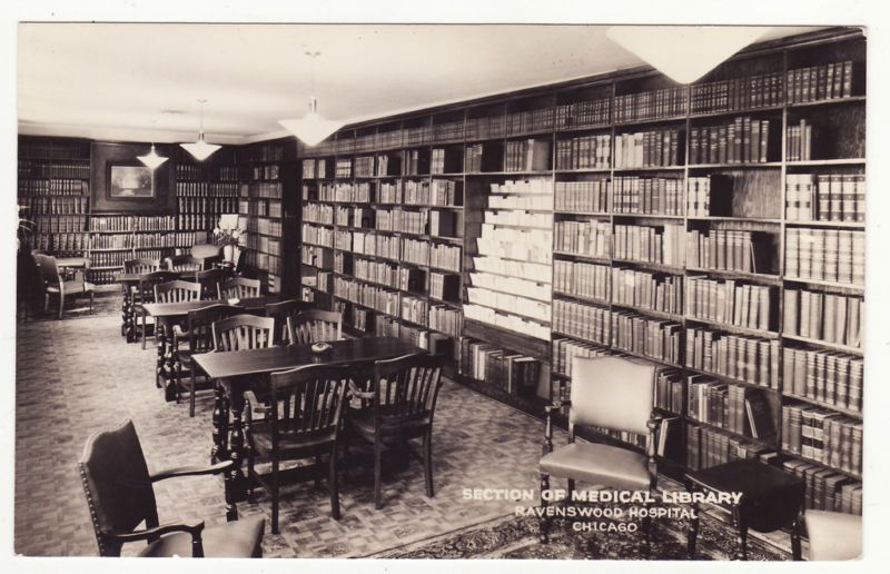 Medical Library At The Old Ravenswood Hospital Chicago