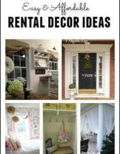 House also how to make that rental into  home decorating tips rh in pinterest