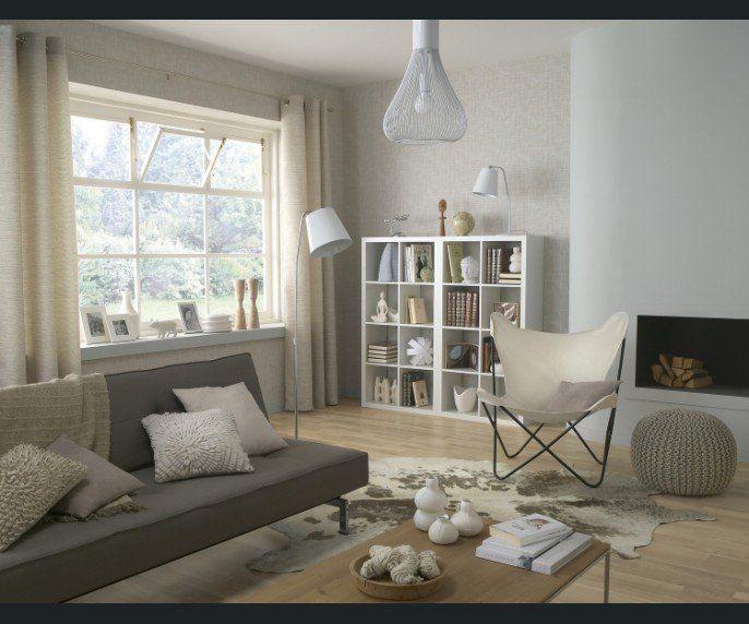 Chambre 11m2: Beautiful Rideau Pour Salon Gris Et Blanc Ideas