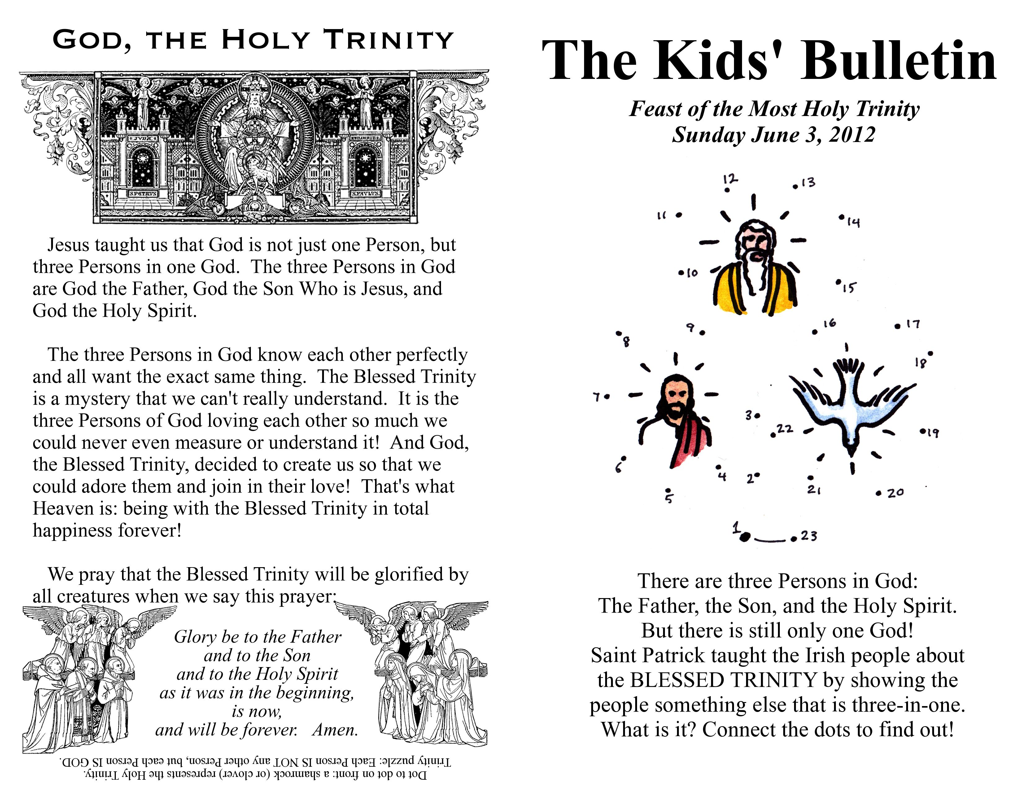 With A Faithful Heart The Trinity For Kids