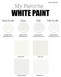 My Favorite White Paint For Walls- Part 1  Benjamin Moore ...