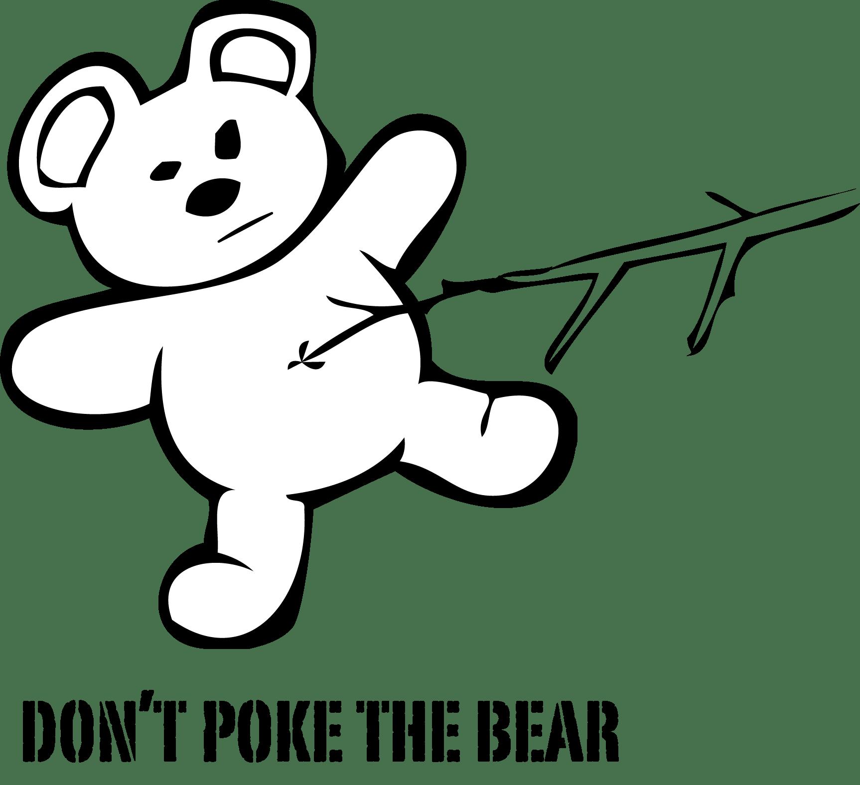 He S In A Bad Mood Don T Poke The Bear To Do Or Say