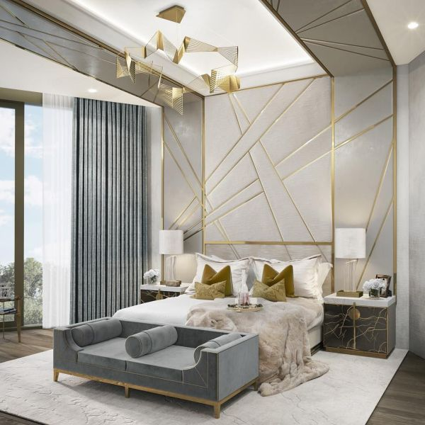 Cgi Of Master Bedroom Produced Mayfair