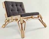 Cool CNC Lounge Chair Design | CNC, Lounge chairs and Plywood