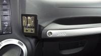 Jeep JK CB HAM Radio Mic Holder Passenger Grab Bar Mount ...