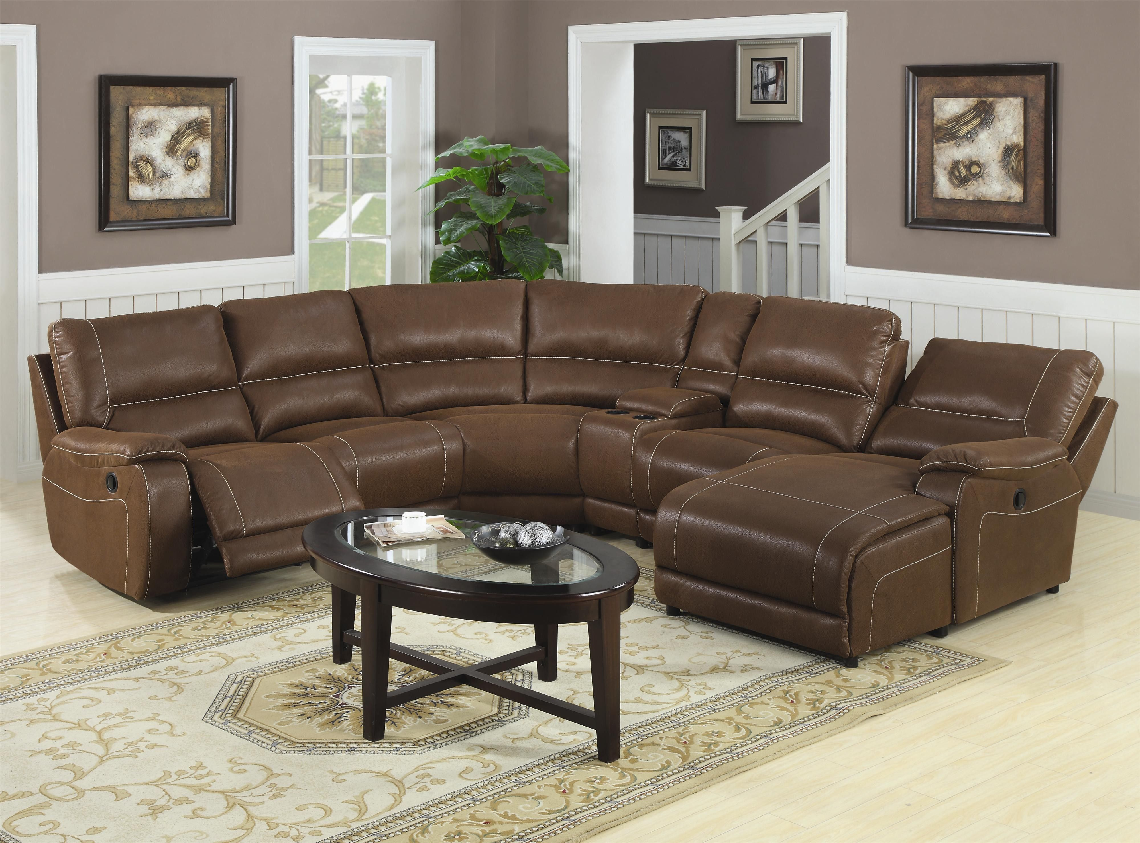 4087 leather sectional sofa with recliners cleaning sofas small reclining