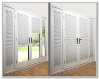 French Door  French Door With Blinds