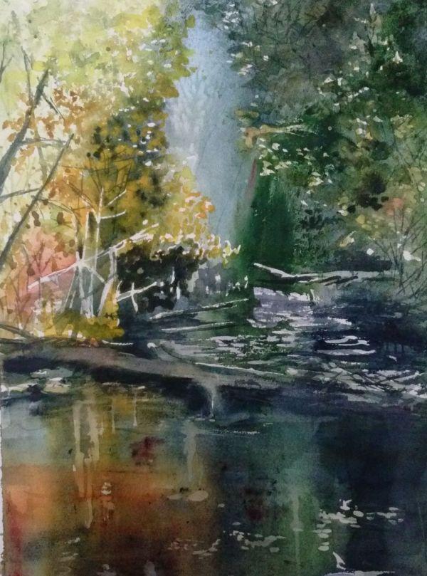 Nita Engle Watercolor
