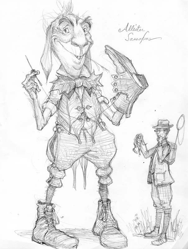 Creature design for ARTHUR SPIDERWICK'S FIELD GUIDE TO THE