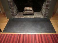 concrete hearth flush to floor | 19 Vinal Ave. | Pinterest ...